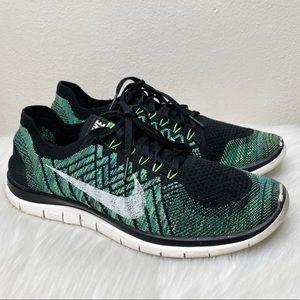 Nike Women's Flyknit Free 4.0 Running Shoes Sz 12
